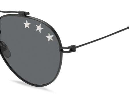 GV 7057/STARS 807 58 IR Black & Metal White design