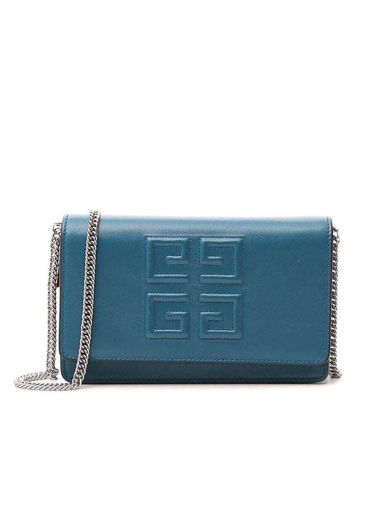 4G Shoulder Bag In Ocean Blue front