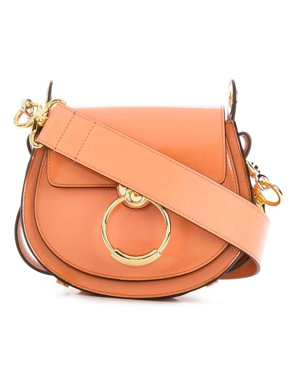 Small Tess Canyon Sunset Leather Crossbody Bag