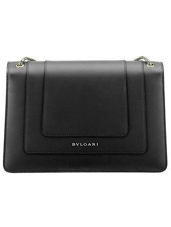 Serpenti Forever Shoulder Bag in Black