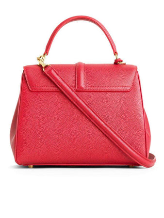 Small 16 Bag in Red Grained Calfskin back