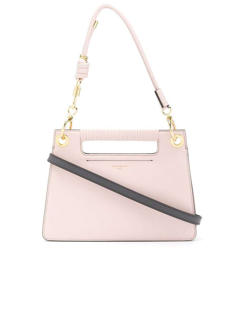 Small Whip Pink Smooth Leather Bag