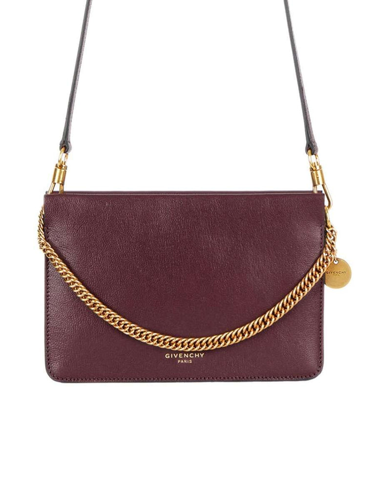 Cross3 Eggplant Leather Shoulder Bag