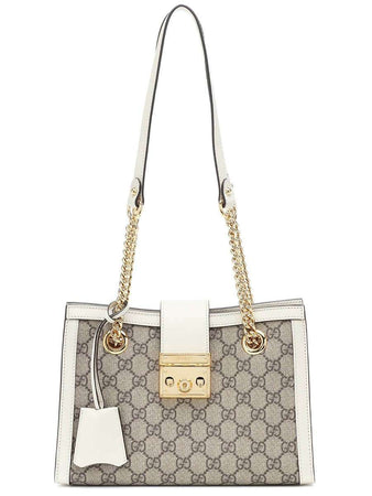 Small Padlock GG Supreme Shoulder Bag front