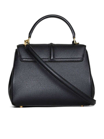 Small 16 Bag in Black Grained Calfskin back