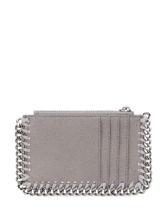 Falabella Shaggy Deer Card Holder in Light Grey