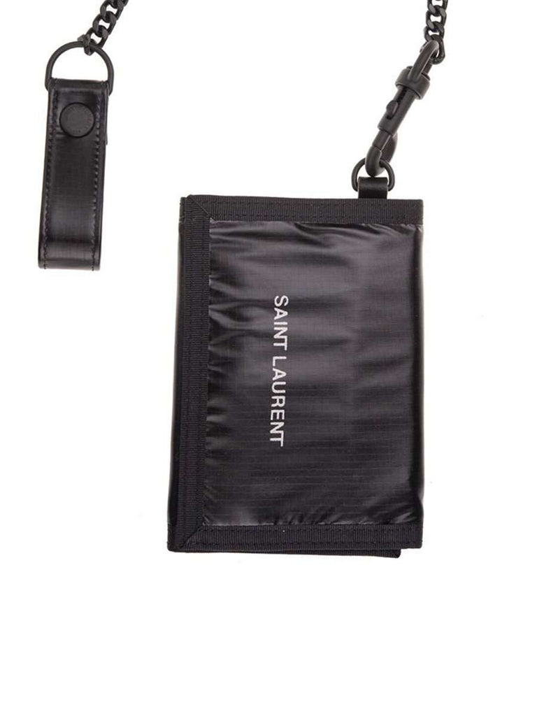 Nuxx Logo Black Nylon Chain Wallet