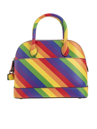 Ville Top Handle S Multicolour Leather Handbag