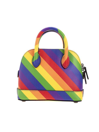 Ville Top Handle XXS Multicolour Leather Handbag