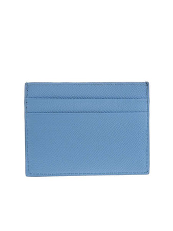 Ville Baby Blue Leather Multi Card Holder