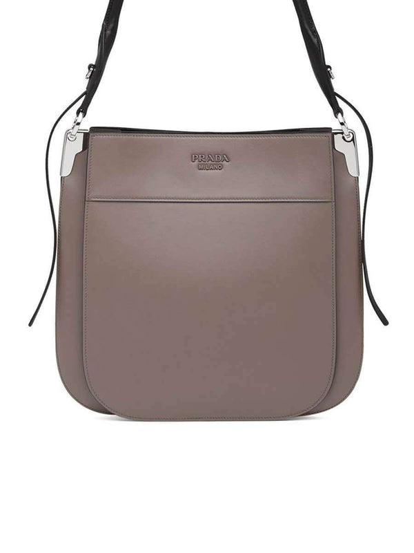 Margit Clay Leather Shoulder Bag