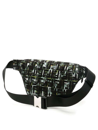 FF Logo Camouflage Belt Pack back view