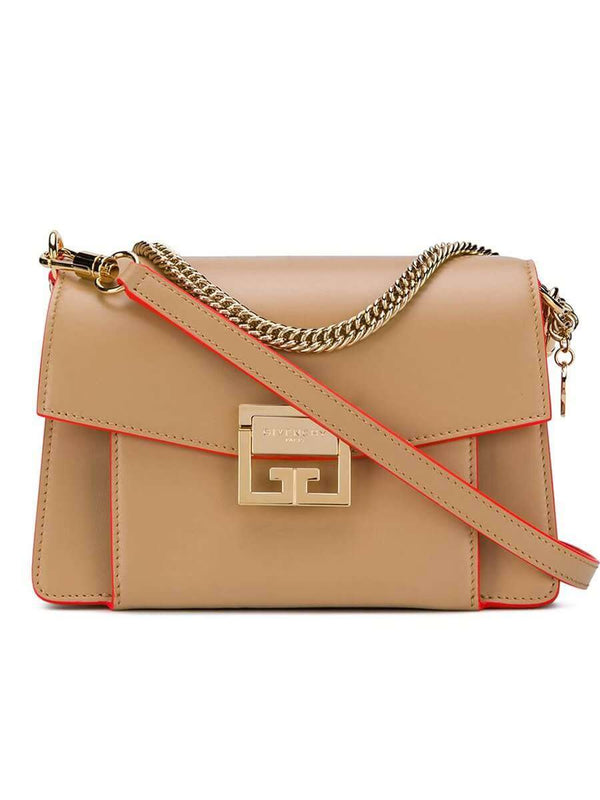 Small GV3 in Beige Camel Smooth Leather