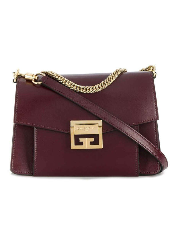 Small GV3 in Aubergine Smooth Leather