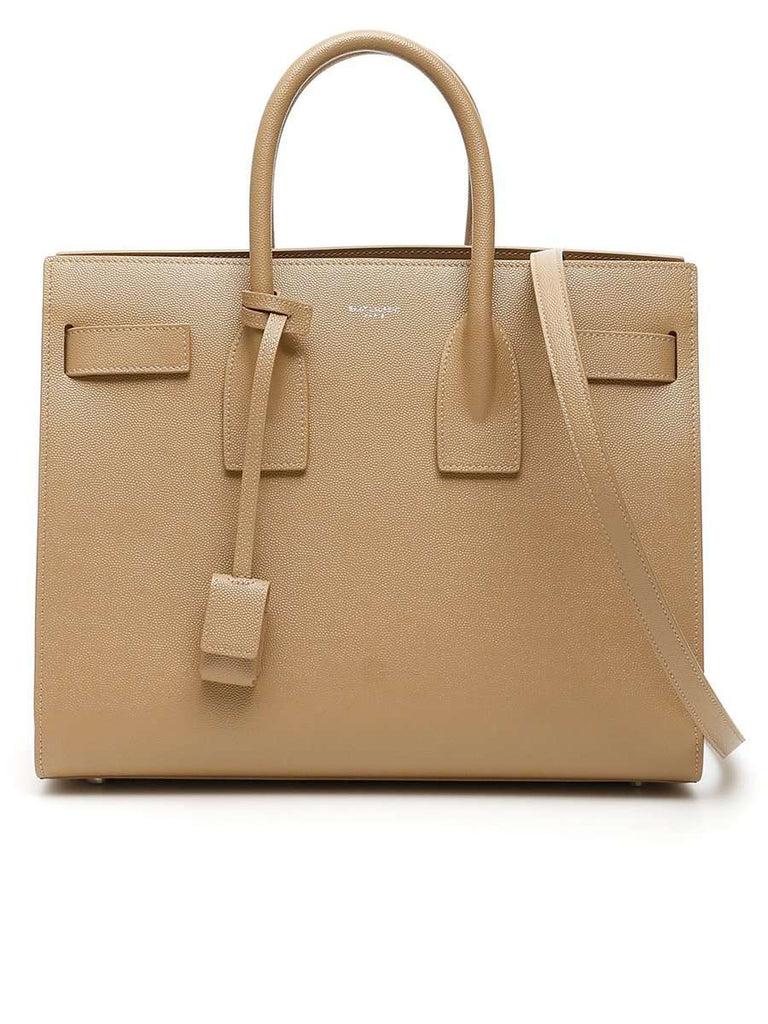 Classic Sac de Jour Small in Dark Milk Grain de Poudre Embossed Leather