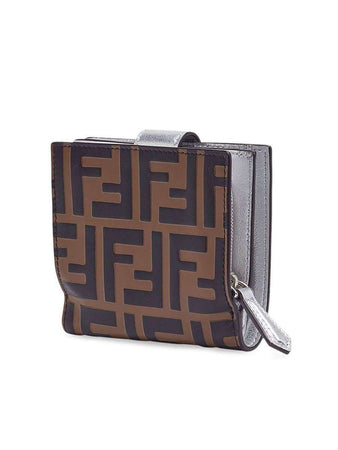 Compact F is Fendi Wallet right