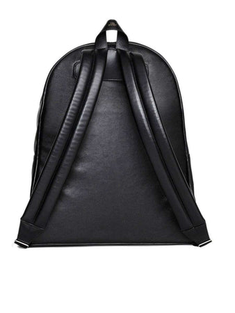 Medium Backpack in Black Smooth Calfskin back