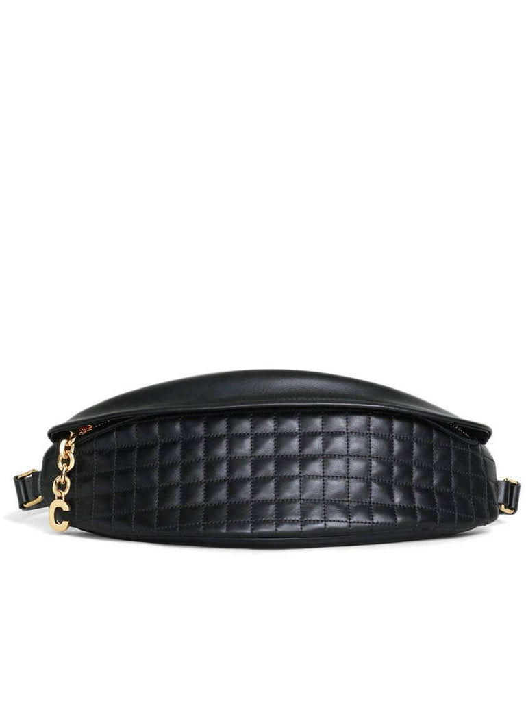 Fanny Pack in Black Quilted Calfskin