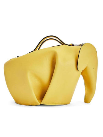 Large Elephant Bag in Classic Calfskin