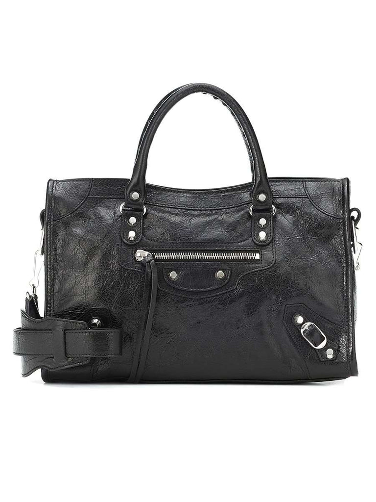 Classic City Small Shoulder Bag in Black