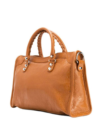 Classic City Small Shoulder Bag in Camel