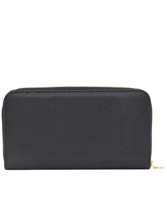 Monogram Motif Grainy Leather Ziparound Wallet