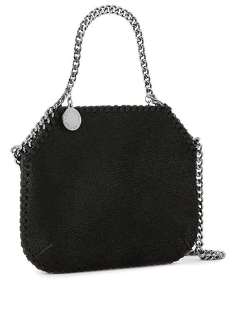 Mini Falabella Shoulder Bag in Black