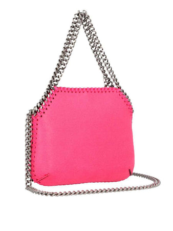 Mini Falabella Shoulder Bag in Fluo Pink