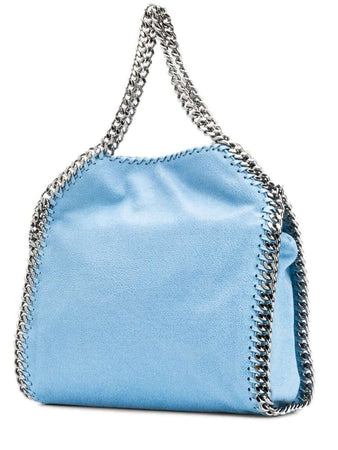 Falabella Mini Tote in Light Blue