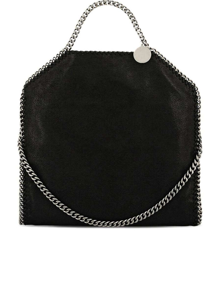 Falabella Fold Over Tote in Black