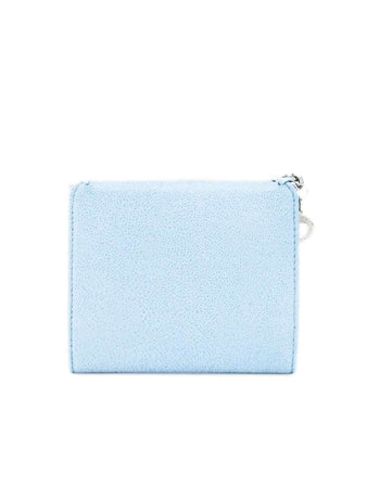Falabella Small Wallet in Light Blue