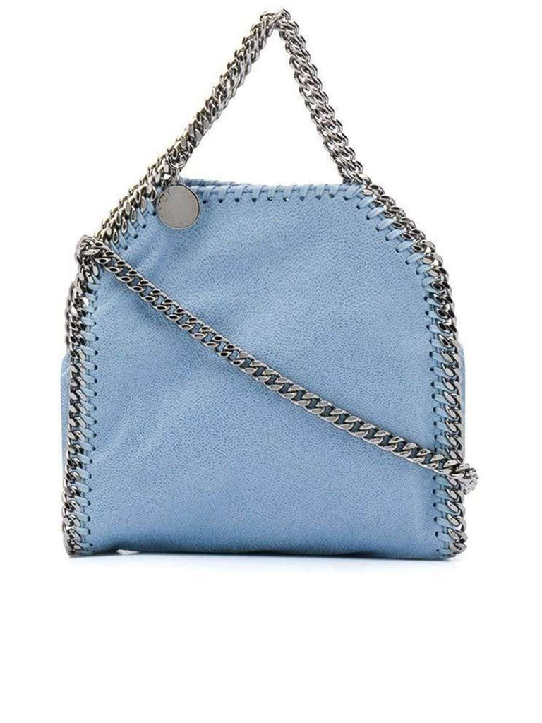Tiny Falabella Tote Bag in Light Blue