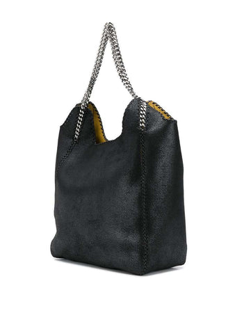 Falabella Large Tote Bag in Black