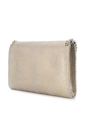 Small Falabella Crossbody Bag in Shimmering Gold