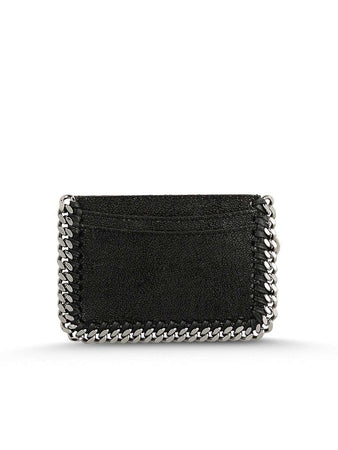Black Falabella Shaggy Deer Card Holder in Black