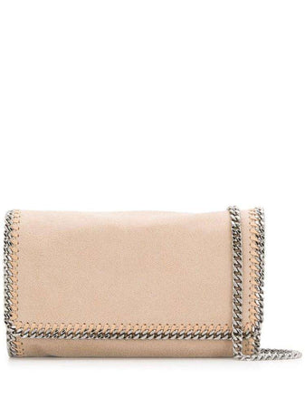 Falabella Shoulder Bag in Butter Cream
