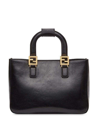 Gloria Small Tote in Black