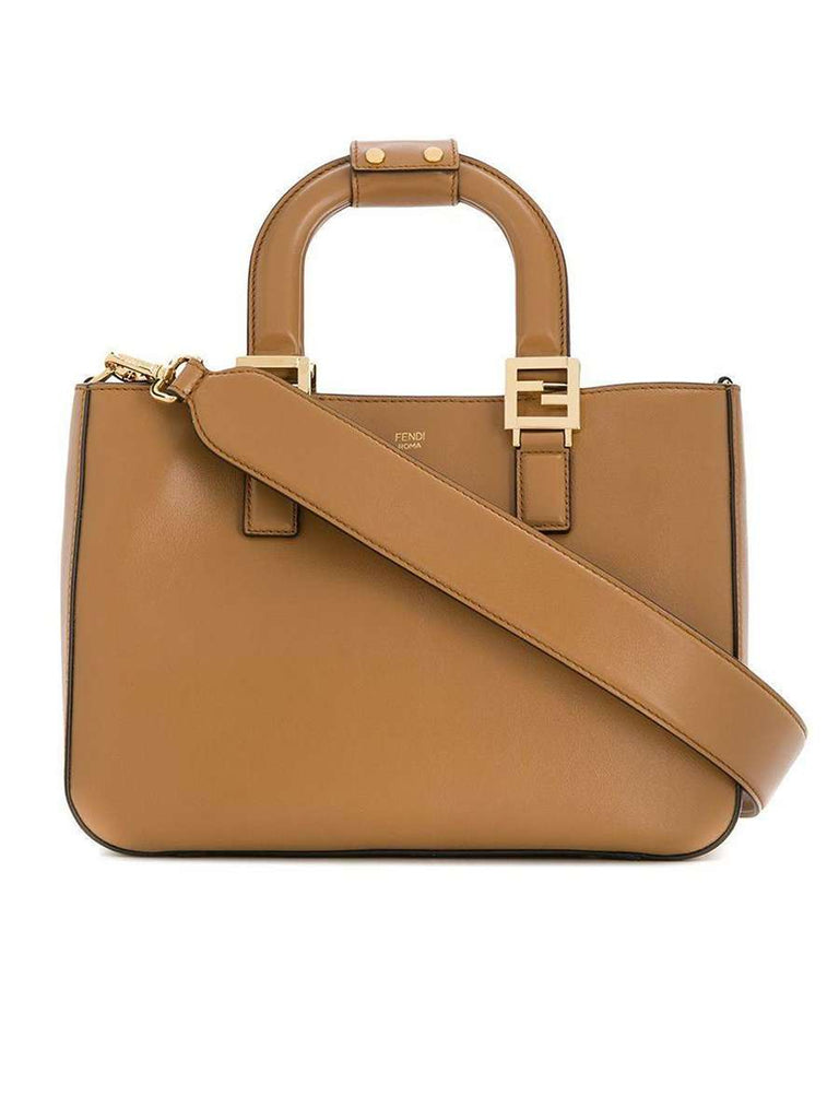 Gloria Small Tote in Brown