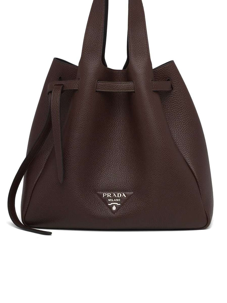 Leather Tote Brown