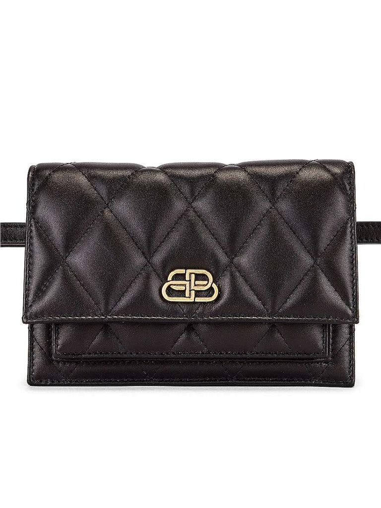 Sharp XS Quilted Leather Belt Bag
