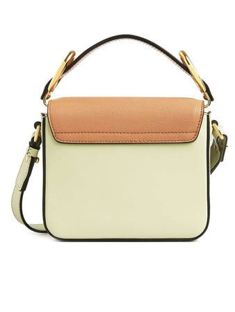 Mini Chloe C Bag in Multicolour Light Eucalyptus