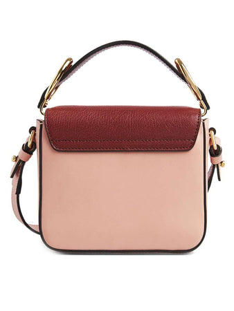 Mini Chloe C Bag in Multicolour Fallow Pink