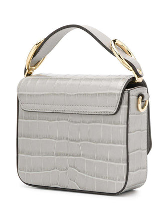 Mini Chloe C Bag in Stormy Grey
