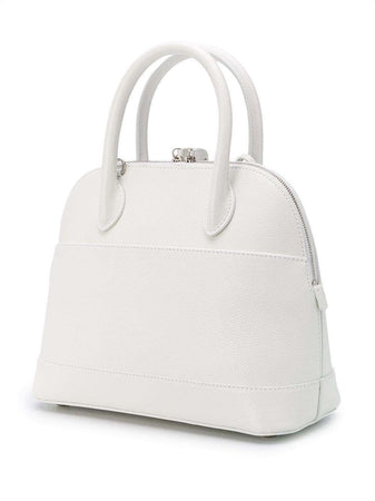 Ville Small Top Handle Bag in White