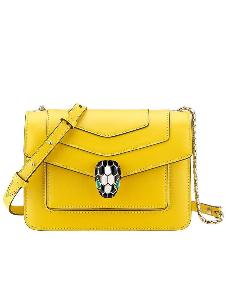 """Serpenti Forever"" Crossbody Bag in Daisy Topaz"