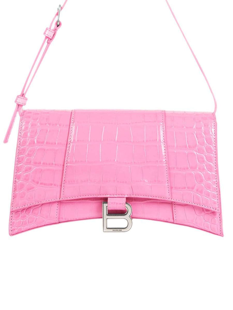 Hourglass Sling Bag Shoulder Bag Pink
