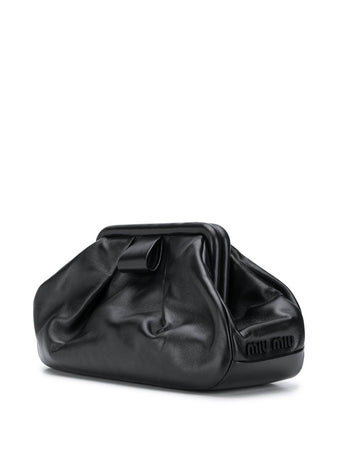 Nappa Leather Clutch