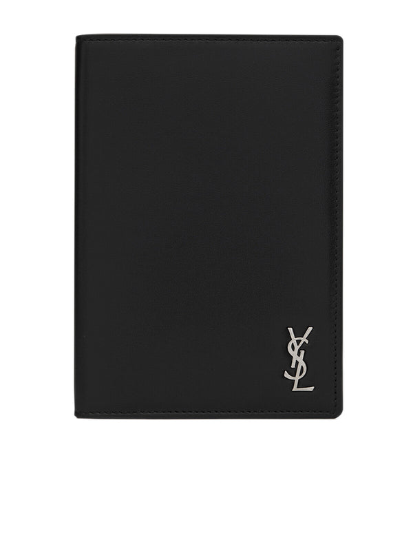 Tiny Monogram Passport Case in Matte Leather