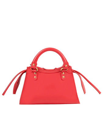 Neo Classic Mini Top Handle Bag in Red