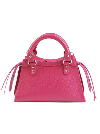 Neo Classic Mini Top Handle in Pink